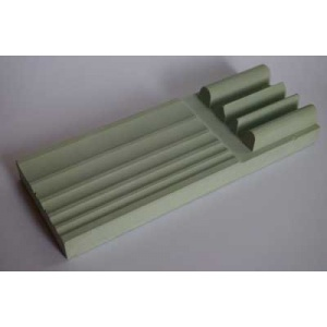 Moulded sharpening stone
